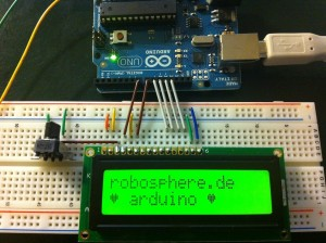 Arduino mit LCD Display