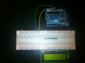 Benötigte Teile für LCD Display und Arduino