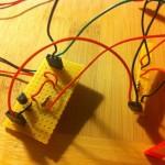 Roboterbau Beleuchtung abgeschlossen