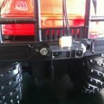 Infrarotsensor an der Stoßstange verbaut