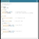 Testprogramm Arduino und Bluetooth