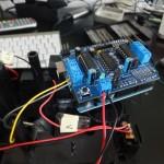 Arduino und Motorshield steuert RC Car