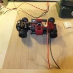 Mini-Z BEC Stecker für Beleuchtung am Chassis verklebt