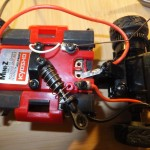Beleuchtungskabel mit Chassis Stromversorgung verbunden