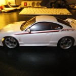 Mini-Z NISMO Silvia, pearl (RM) Ready Set