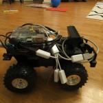 Roboter ausgestattet mit Webcam
