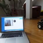 Raspberry Pi steuert Arduino Roboter