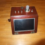 Steampunk Touchscreen PC - Front